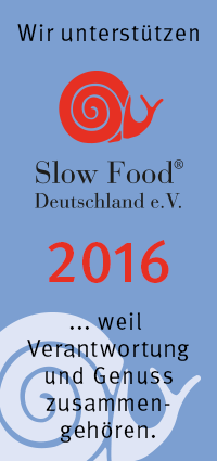 Slow Food Förderlogo 2016